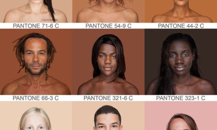 Brazilian Artist Photographs Hundreds Of People To Prove That Humans Are More Than Just 'Black And White'