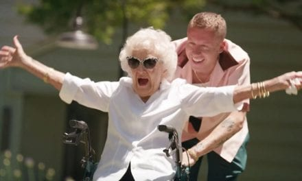 Rapper Macklemore Surprises Grandmother On 100th Birthday And People Can't Stop The Tears!