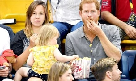 2-Year-Old Caught Stealing Prince Harry's Popcorn At Invictus Games In Toronto