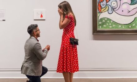 Man Risks Getting Kicked Out Of Met Museum To Propose Girlfriend In The Most Romantic Way