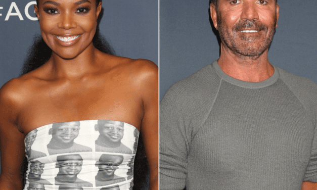 "Gabrielle Union Says Simon Cowell's Smoking Gave Her Bronchitis On The Set Of ""America's Obtained Talent"""