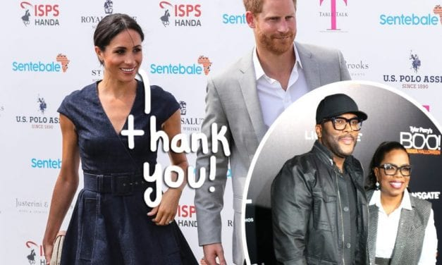 Meghan Markle & Prince Harry Are Said To Be Staying In Tyler Perry's $18 Million Estate!