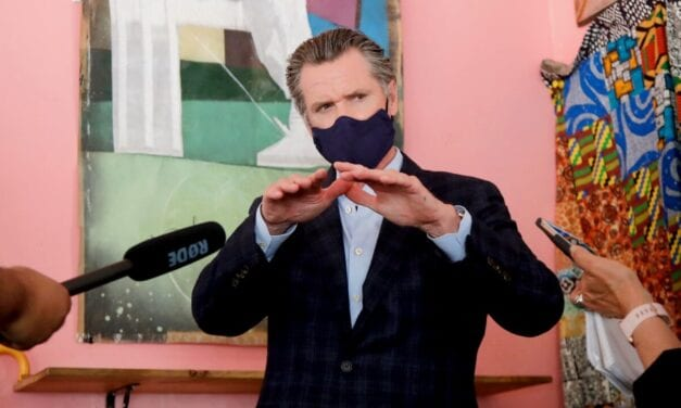 Newsom Announces Regional Stay-at-Home Purchase Triggered by ICU Area