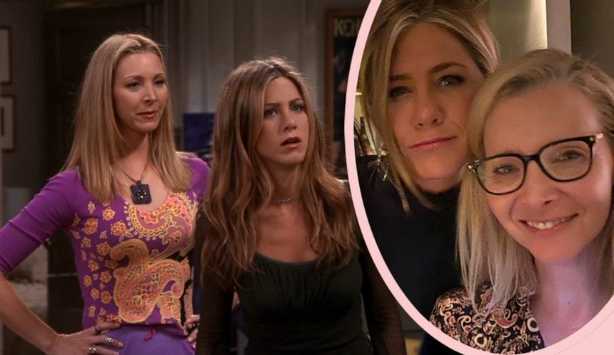 Jennifer Aniston & Lisa Kudrow Share Behind-The-Scenes Friends Tales In Nostalgic Interview!