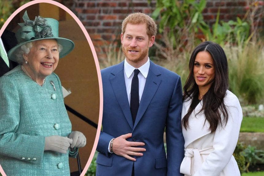 Knight in shining armor Harry Was ONLY Permitted to Marry Meghan Because The lady Was Biracial?!