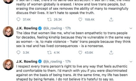 M. K. Rowling Facing Main Backlash Online After Getting Accused Of Transphobic Tweeting!
