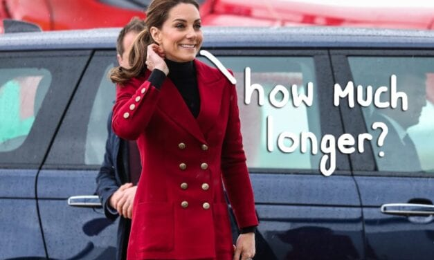Kate Middleton Says Quarantine Continues to be 'Really Difficult'