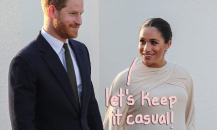 Knight in shining armor Harry & Meghan Markle Drop ALL Royal Game titles In New Letter!