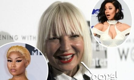 Sia Apologizes After Confusing Cardi B & Nicki Minaj: 'I Totally Misunderstood'