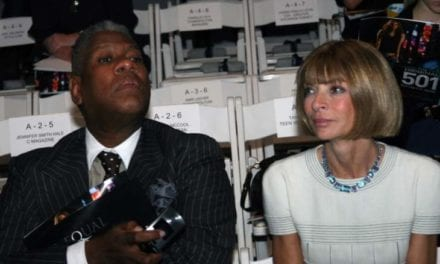André Leon Talley Says That will Nothing Will Get In The Way Of Anna Wintour's White Privilege