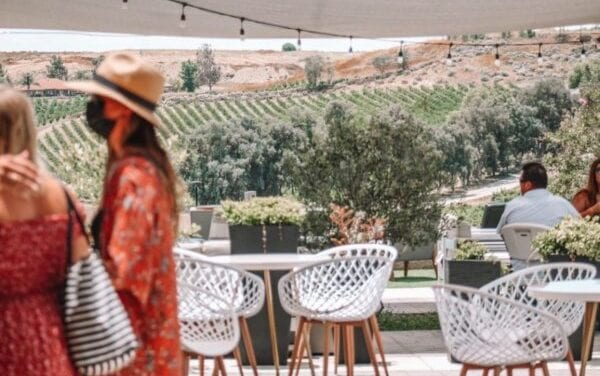 The southern part of California Vintners Temper Difficulty With Good Spirits