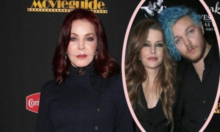 Priscilla Presley Breaks Her Stop On 'Shock' Of Son Benjamin Keough's Suicide