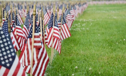 Ma Family Plants Over 6, 000 Flags on Yard for COVID-19 Deaths within the State
