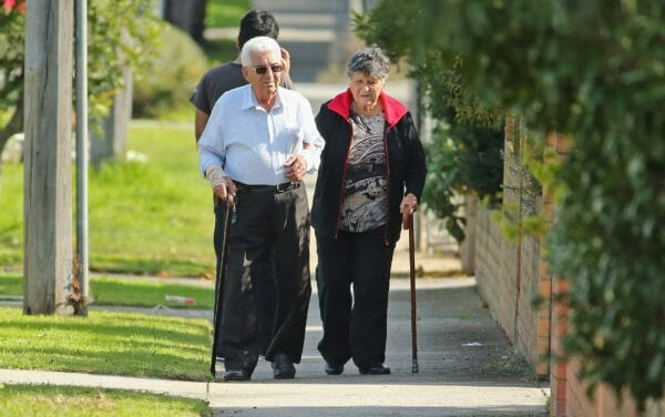 Burial plot Concern Over Virus Striking Aged Care Facilities within Victoria