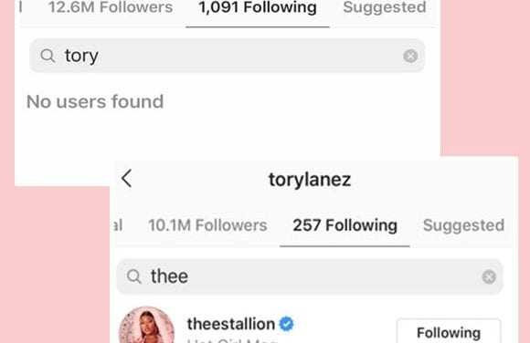 Megan Thee Stallion Unfollows Tory Lanez On Social Media Right after Reports He Allegedly Chance At Her