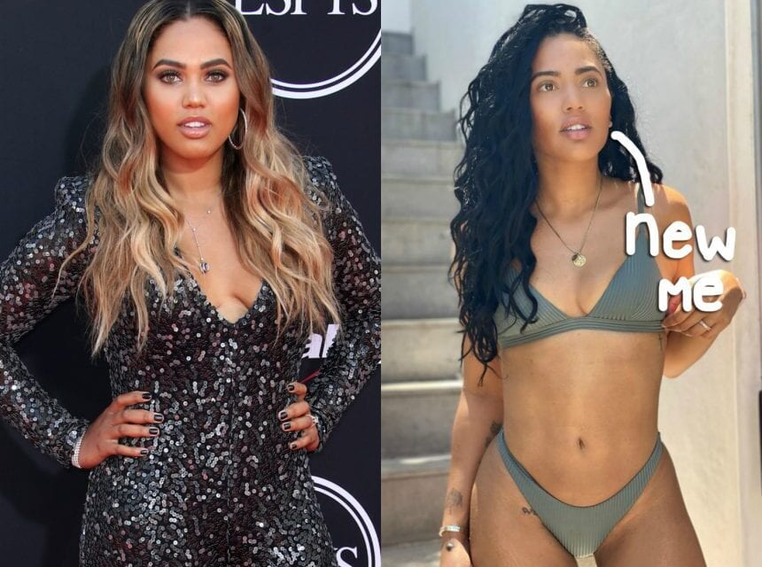 Ayesha Curry Shows Off 35 Pound Weight Loss & Announces Exercise program!