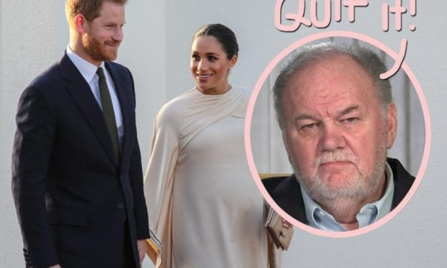 Meghan Markle's Father Says The girl & Prince Harry Need to Stop 'Whining And Complaining'! What??