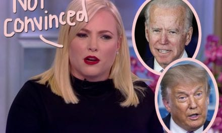 Meghan McCain Won't Commit To Voting For Biden Over Trump?! WTF?!?