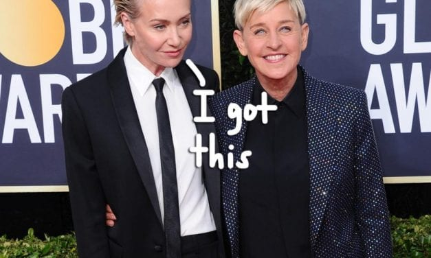 Portia de Rossi Tries To Protect Ellen DeGeneres By Starting Bizarre Fan Support Strategy!