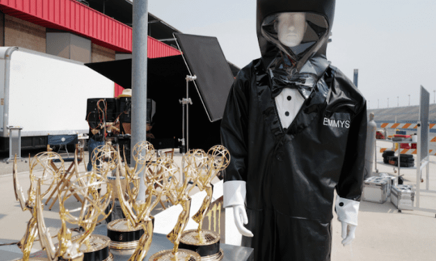 The particular Emmys Will Be Handed Out Simply by Presenters In Hazmat Tuxedo Suits