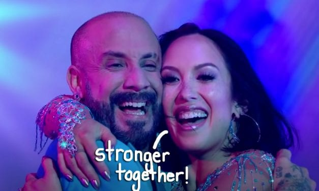 Cheryl Burke Reveals She's two years Sober — With A Little Assist From DWTS Partner AJ McLean!