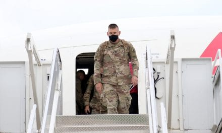 a hundred and fifty National Guard Soldiers Come back Home After Year-Long Mobilization in Middle East