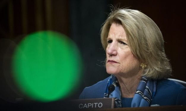 Sen. Capito Going Into Isolation Right after Exposure to COVID-19 Patient