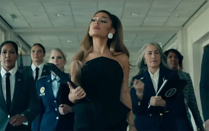 """Open up Post: Hosted By Chief executive Ariana Grande In The Video clip For """"Positions"""""""