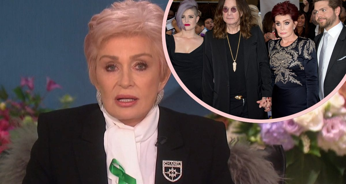 Sharon Osbourne Opens Up About The girl 2016 Suicide Attempt — And What Saved Her