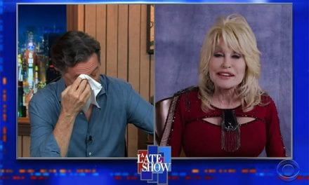Junk Parton Made Stephen Colbert Cry By Singing