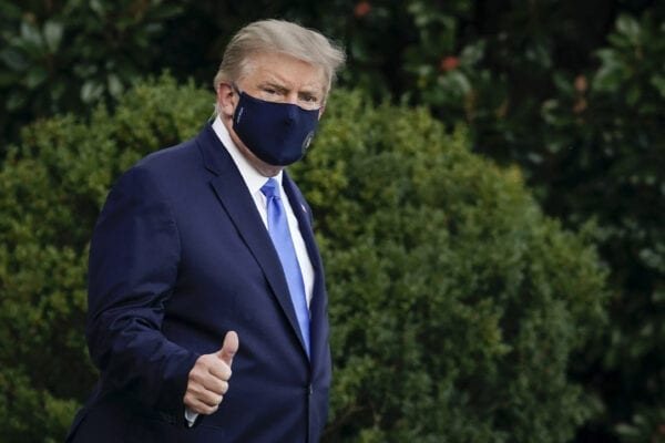 Trump Says He Will Donate Personal Blood Plasma, Is No Longer upon Medication for COVID-19