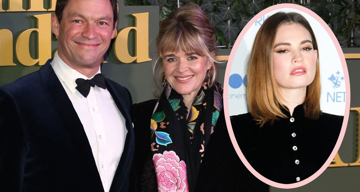 Dominic West's Wife Didn't Understand! Reportedly 'Heartbroken' And 'Devastated' By Lily James Pictures!
