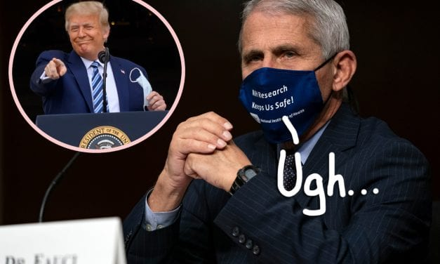 Absurdly Misleading Trump Campaign Advertisement On Coronavirus Response Misquotes Fauci — And The Physician Is Pissed!