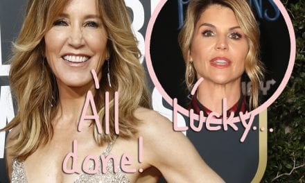 Felicity Huffman Is Finished With University Admissions Scandal Sentence Right after Completing Supervised Release!