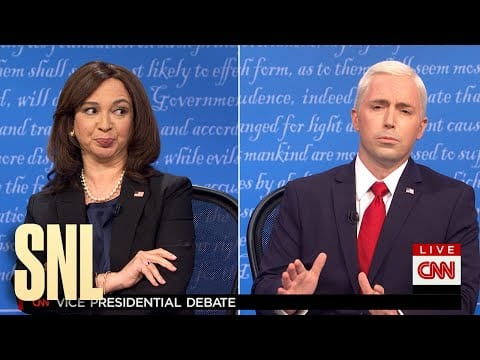 John Carrey Plays Mike Pence's Fly To Open A Brand New 7 days Of SNL Skits! Shows HERE!