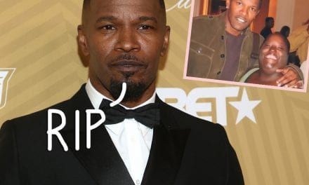 Jamie Foxx Reveals His Much loved Little Sister Has Passed away: ' My Heart Will be Shattered Into A Million Pieces'