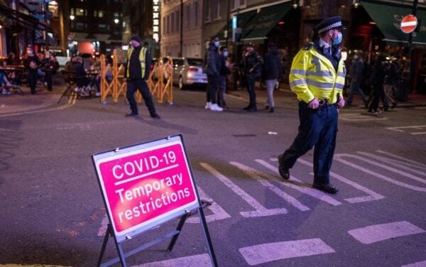 Law enforcement in England Hand out More Fees As COVID-19 Rules Tighten up