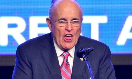 "Rudy Giuliani Got Caught Together with his Hands Down His Pants Throughout a Prank For ""Borat 2"""
