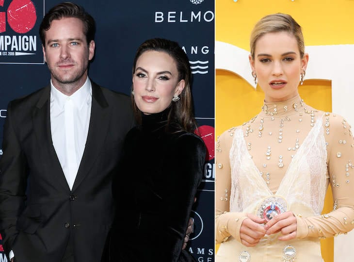 Armie Hammer's Marriage Might Have Finished Because His Wife Had been Suspicious Of His Functioning Relationship With Lily Adam