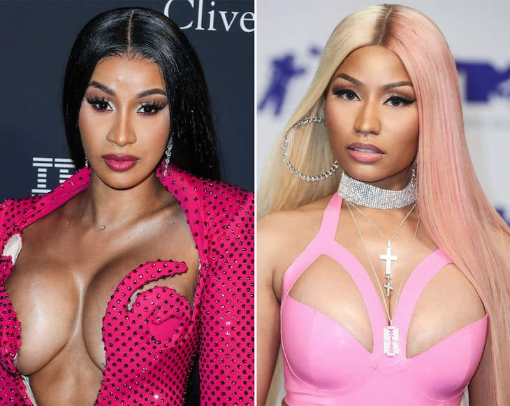 The web Thinks That Cardi M And Nicki Minaj May have Recorded A Song Jointly