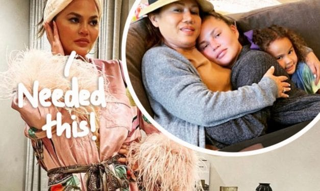 Chrissy Teigen Reflects On The ' Hardest 4 Days' Associated with Her Life While Hugging With Her Mom and Daughter Luna