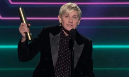 """Ellen DeGeneres Made Sure To Say thanks to Her """"Amazing"""" Staff Whilst Accepting Her People's Selection Award"""