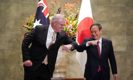 Quotes and Japan Commit to Deepen Military Ties and Assistance in the Indo-Pacific