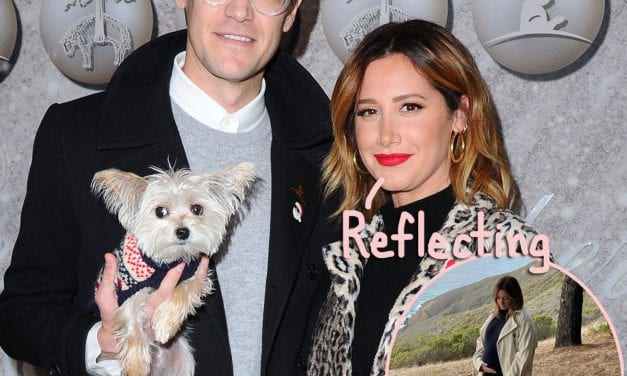 Expectant Ashley Tisdale & Hubby Spend Baby Moon Within ' Safe Place' Huge Sur As Birth Day Gets Closer!