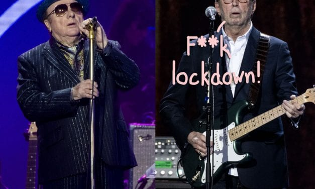 Vehicle Morrison & Eric Clapton Slam COVID-19 Quarantine Procedures, Announce New Anti-Lockdown Individual