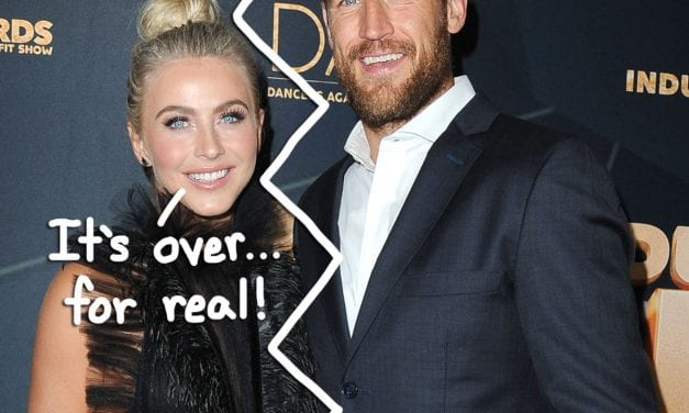 It' s Over! Julianne Hough Officially FILES FOR SEPARATION AND DIVORCE From Brooks Laich!