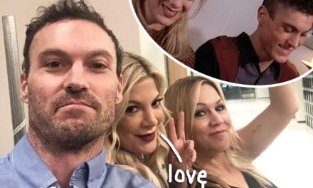 Tori Spelling Defends Brian Austin tx Green After Exes Tinted The S**t Out Of Your pet!