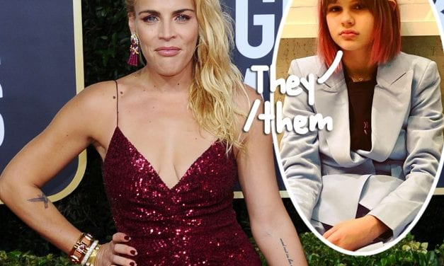 Busy Philipps Reveals 12-Year-Old Birdie Came Out As Gay — And Prefers To Use They/Them Pronouns!