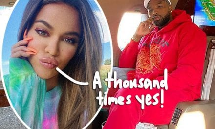 Khloé Kardashian Spotted Wearing PLANET-SIZED Engagement Ring! Did Tristan Thompson Propose!?