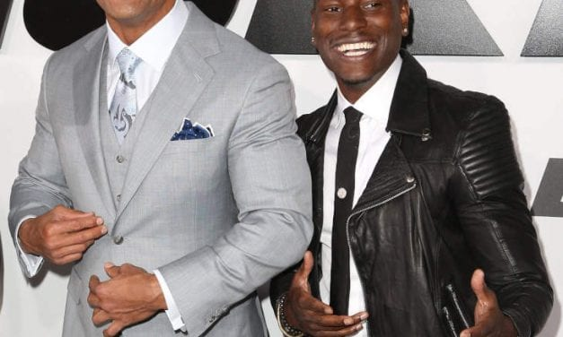 "SMASHING NEWS: The Rock Plus Tyrese Have ""Peaced Up"""
